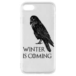 Чохол для iPhone SE 2020 Winter is approaching and crow