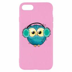 Чехол для iPhone SE 2020 Winter owl
