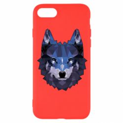 Чохол для iPhone SE 2020 Wolf geometric