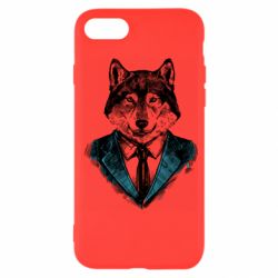 Чехол для iPhone SE 2020 Wolf in costume