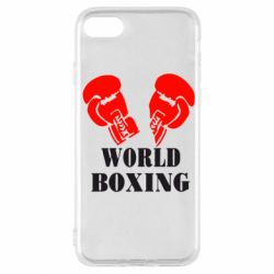 Чехол для iPhone SE 2020 World Boxing