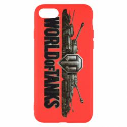 Чехол для iPhone SE 2020 World Of Tanks 3D Logo