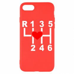 Чехол для iPhone SE 2020 Я люблю механическую коробку передач!