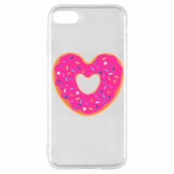 Чехол для iPhone SE 2020 Я люблю пончик