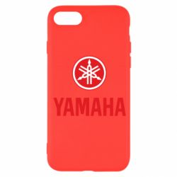 Чехол для iPhone SE 2020 Yamaha Logo(R+W)