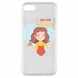 Чохол для iPhone SE 2020 You are super girl