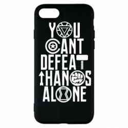 Чехол для iPhone SE 2020 You can't defeat thanos alone