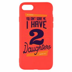 Чехол для iPhone SE 2020 You can't scare me i have 2 daughters