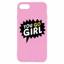 Чехол для iPhone SE 2020 You go girl