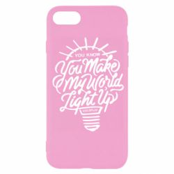 Чохол для iPhone SE 2020 You know your make my world light up coldplay