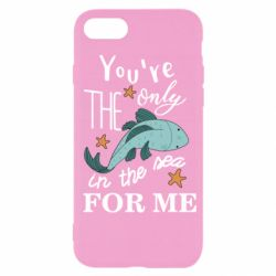 Чохол для iPhone SE 2020 You're the only in the sea for me