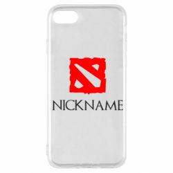 Чохол для iPhone SE 2020 Your nickname Dota2
