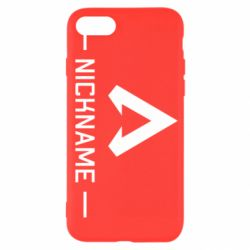 Чехол для iPhone SE 2020 Your NickName English only