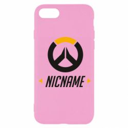 Чехол для iPhone SE 2020 Your Nickname Overwatch