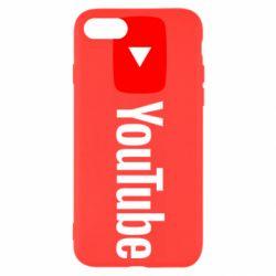 Чехол для iPhone SE 2020 Youtube logotype
