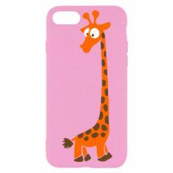 Чехол для iPhone SE 2020 Жираф