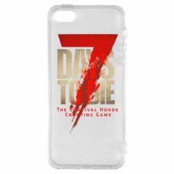 Чохол для iPhone SE 7 Days To Die