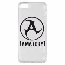 Чехол для iPhone SE Amatory