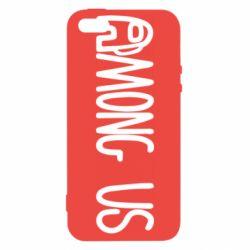 Чохол для iPhone SE Among Us Logo