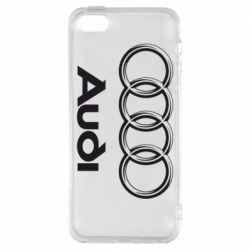 Чехол для iPhone SE Audi Small