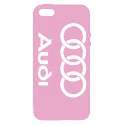 Чехол для iPhone SE Audi