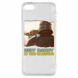 Чохол для iPhone SE Best daddy mandalorian