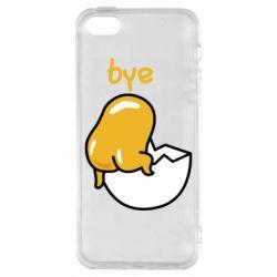 Чохол для iPhone SE Bye