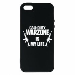 Чохол для iPhone SE Call of duty warzone is my life M4A1