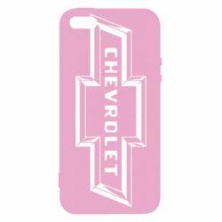Чехол для iPhone SE Chevrolet 3D
