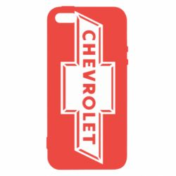 Чехол для iPhone SE Chevrolet Logo Small