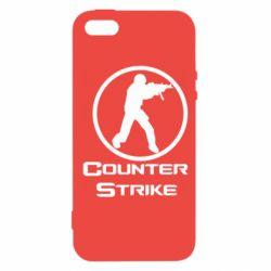 Чехол для iPhone SE Counter Strike