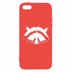 Чохол для iPhone SE Cute raccoon face
