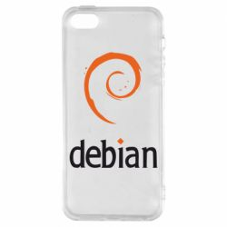 Чехол для iPhone SE Debian