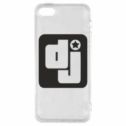 Чехол для iPhone SE DJ star