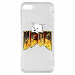 Чохол для iPhone SE Doom меов cat