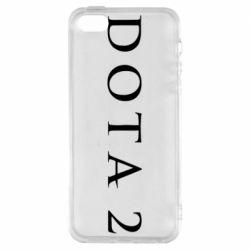 Чехол для iPhone SE Дота 2