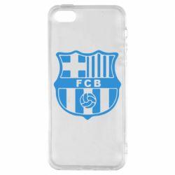 Чохол для iPhone SE FC Barcelona