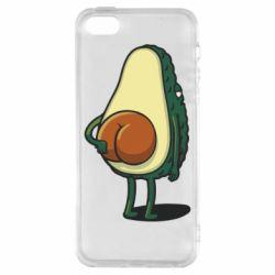 Чохол для iPhone SE Funny avocado