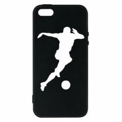 Чехол для iPhone SE Футбол