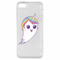 Чохол для iPhone SE Ghost Unicorn