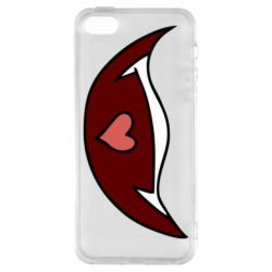 Чохол для iPhone SE Heart in mouth