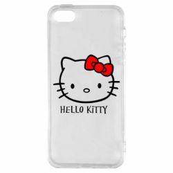Чехол для iPhone SE Hello Kitty