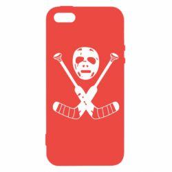 Чехол для iPhone SE Хоккейная маска