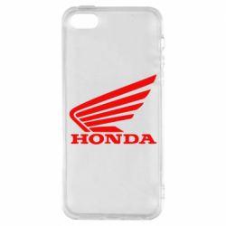 Чехол для iPhone SE Honda