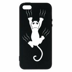 Чохол для iPhone SE кот когти