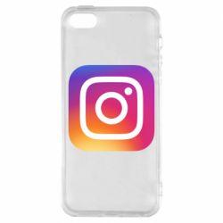 Чохол для iPhone SE Instagram Logo Gradient