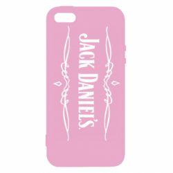 Чехол для iPhone SE Jack Daniel's Logo