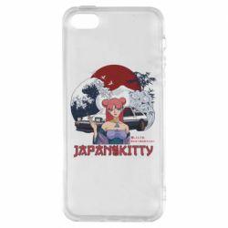 Чохол для iPhone SE Japan Kitty