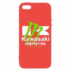 Чохол для iPhone SE Kawasaki Monster Energy
