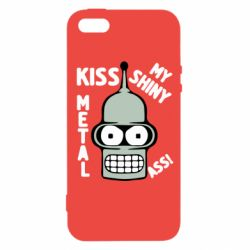 Чехол для iPhone SE Kiss metal